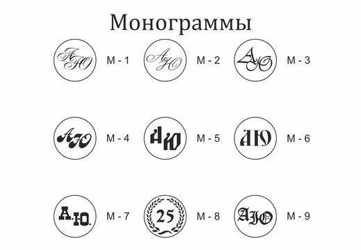 Примеры готовых сургучных печатей для оформления приглашений на праздничное мероприятие
