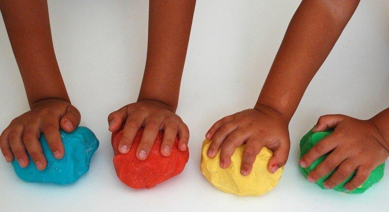 Мягкий пластилин для детей