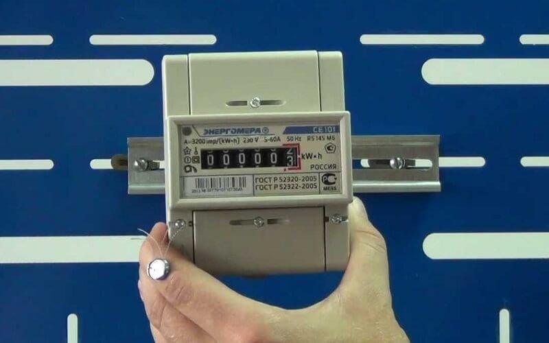пломбиратор для счетчиков электроэнергии