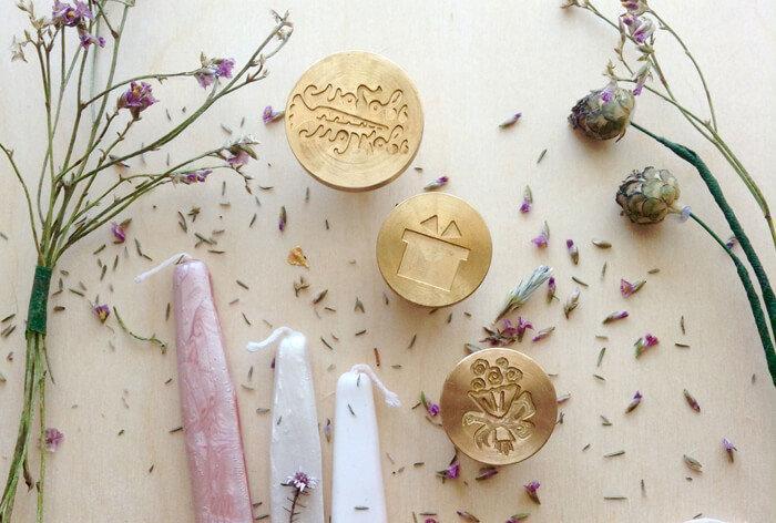 Сургучные печати в скрапбукинге