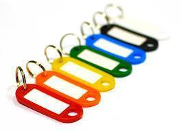 бирки для ключей