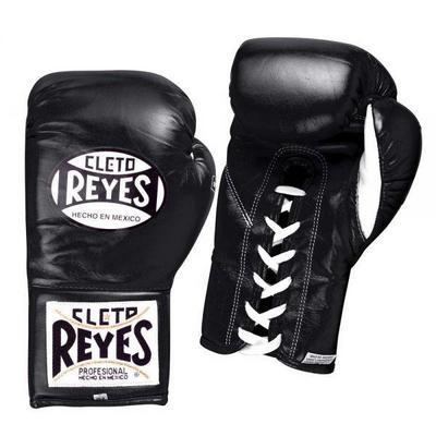 Перчатки боксерские на шнурках CВ408