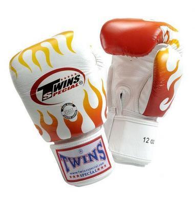 Боксерские перчатки тренировочные на липучке FBGV-7