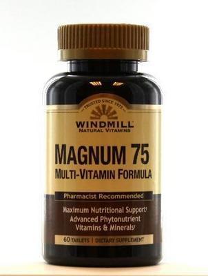 Magnum 75 multi-vitamin formula