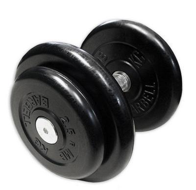 Гантель неразборная черная 18.5 кг