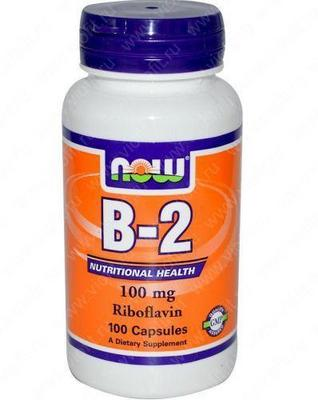 B-2 Riboflavin 100 mg
