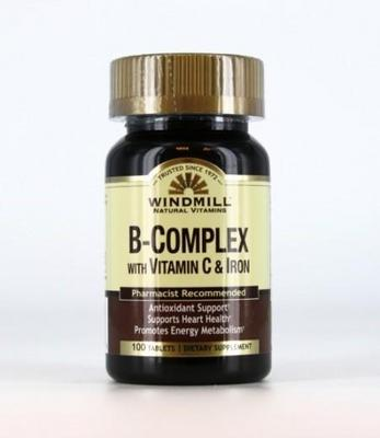 B-Complex with Vitamin C & Iron