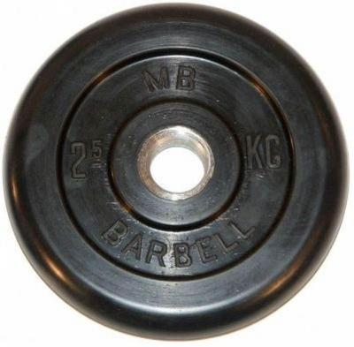 Barbell диски 2,5 кг