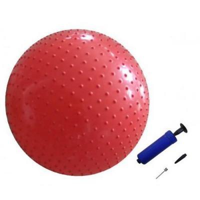 Мяч массажный с насосом