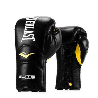 Перчатки Everlast Elite Pro на шнуровке