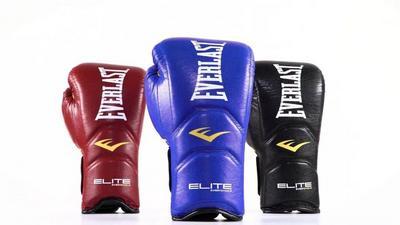Перчатки Everlast Elite Pro на липучке