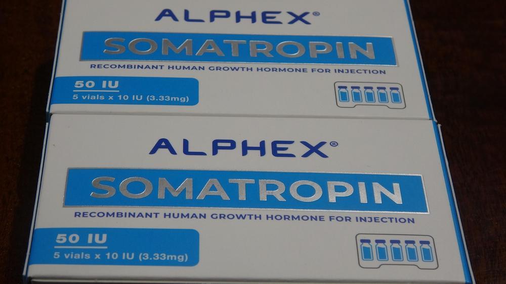 соматотропин гормон роста Somatropin Alphex для девушек