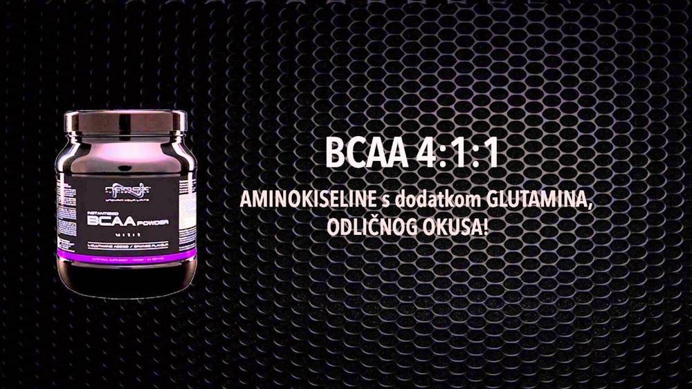 Аминокислоты BCAA POWDER 4-1-1 на массу