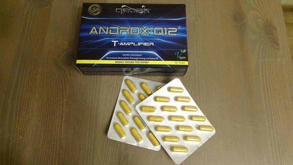 Тестобустер Nanox Androx–Q12 для мужчин