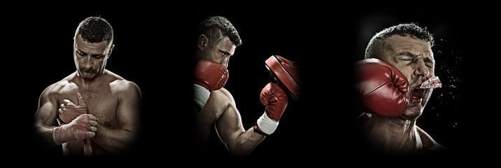 боксерские перчатки Everlast protex2 ЭверДрай