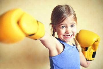 боксерские перчатки для детей