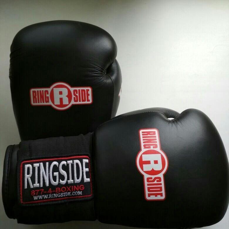 Перчатки боксерские тренировочные MFTGE черный