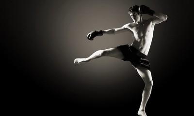 боксерские перчатки King фото
