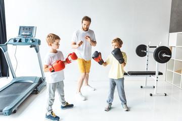 боксерские перчатки 8 унций для детей