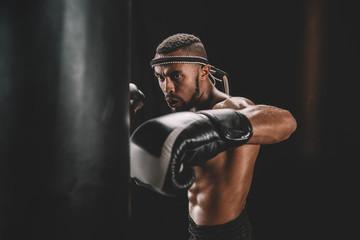 боксерские перчатки 14 унций на какой вес
