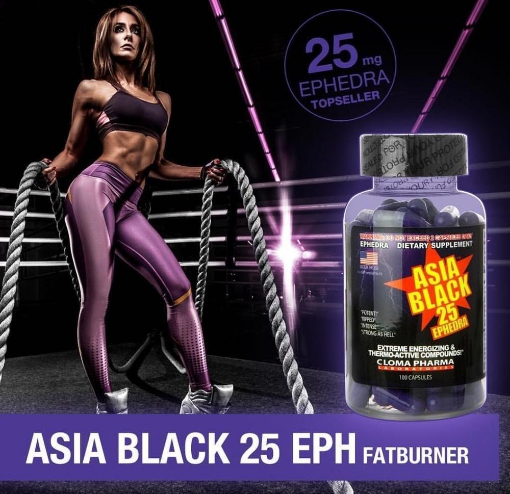 asia black 25 ephedra