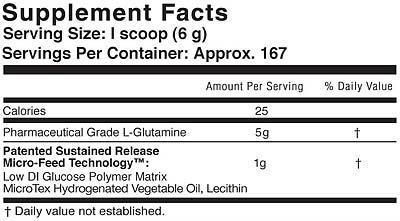 Глютаминовая добавка Glutamine-SR