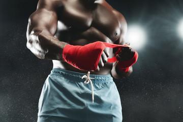 Бинты боксерские 4456 черный