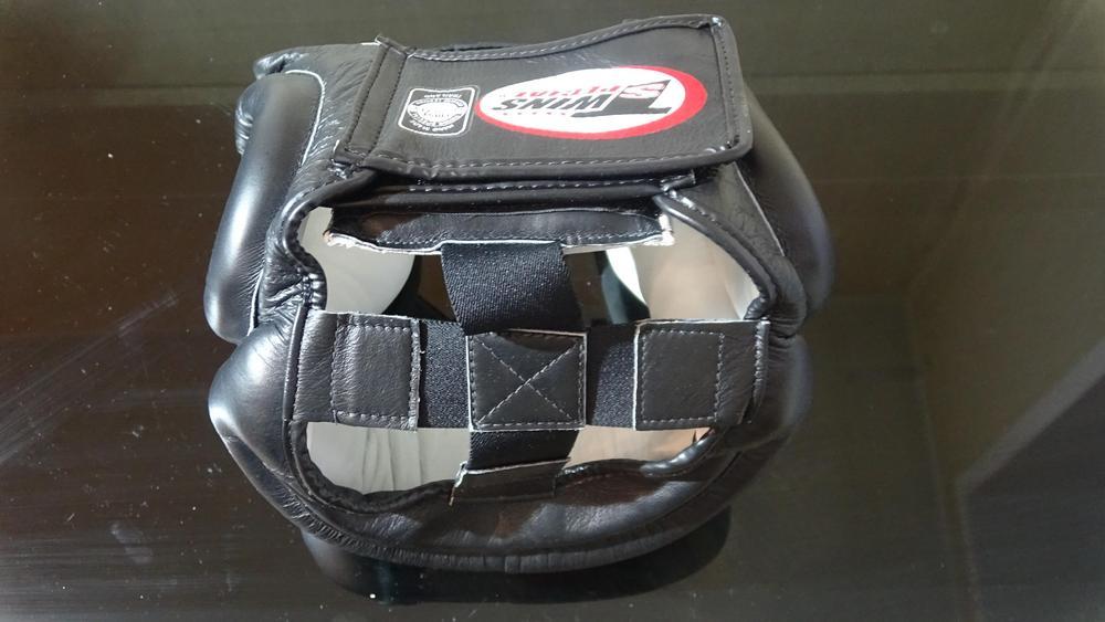 боксерский шлем twins hgl-2 на резинках