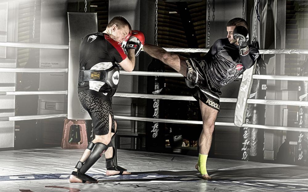 Тайский бокс макивара