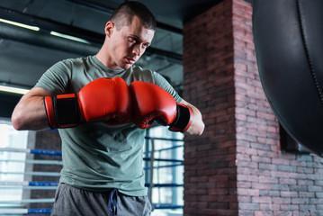 боксерские перчатки 16 унций oz москва фото