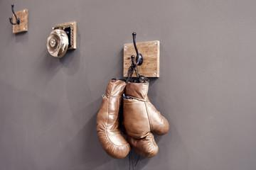 боксерские перчатки кожаные оригинал