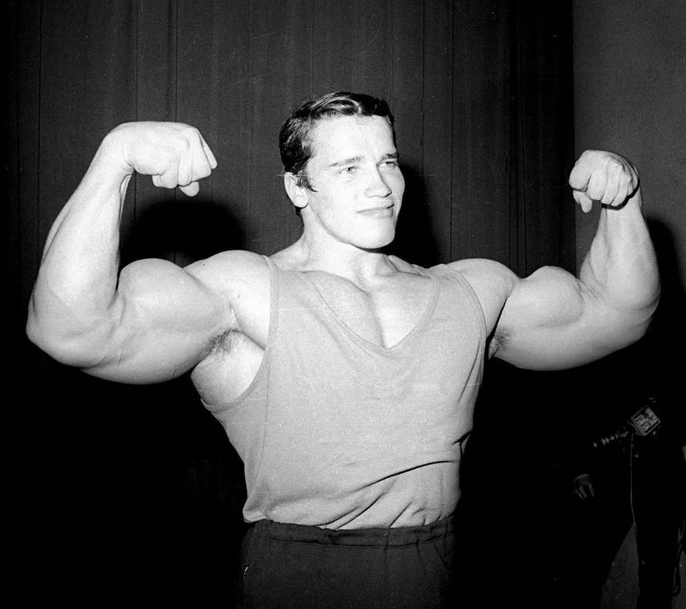 Арнольд в 20 лет