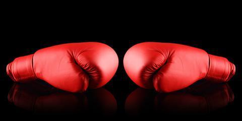 боксерские перчатки красные для бокса