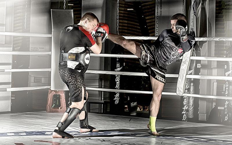 защита паха для бокса и единоборств