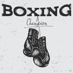 кожаные боксерские перчатки для спарринга