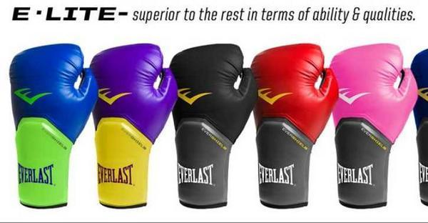 Боксерские перчатки Everlast Pro Style Elite характеристика