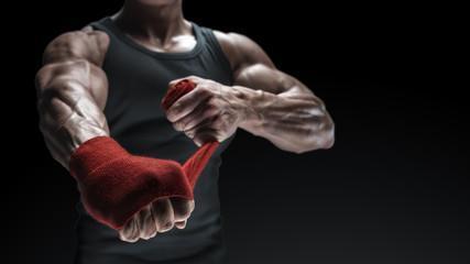 бокс фиксация кисти