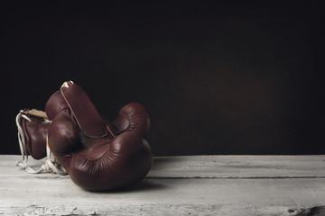 купить боксерские перчатки кожа