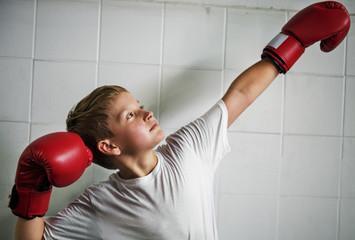 боксерские перчатки для подростка