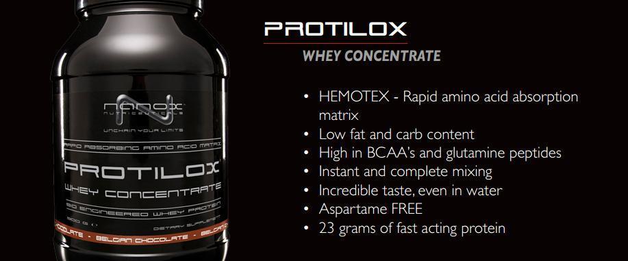 Protilox whey 900г для роста мышц