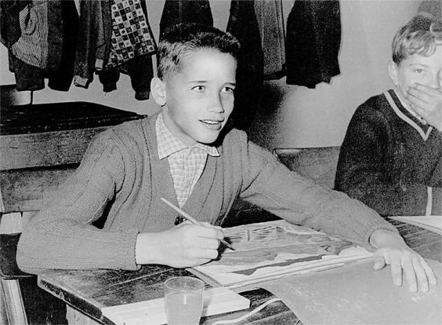 Арнольд Шварценеггер спорт в школе