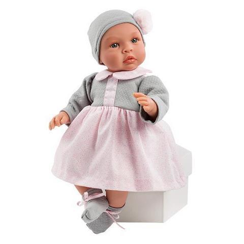 """Кукла-пупс """"ASI"""" Леонора в теплом платье (арт.184280)"""