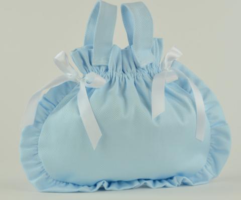 Арт. 0000059. Аксессуары для кукол ASI, сумочка голубая.