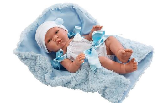 """Кукла-реборн """"ASI"""" Пабло, арт.364301"""