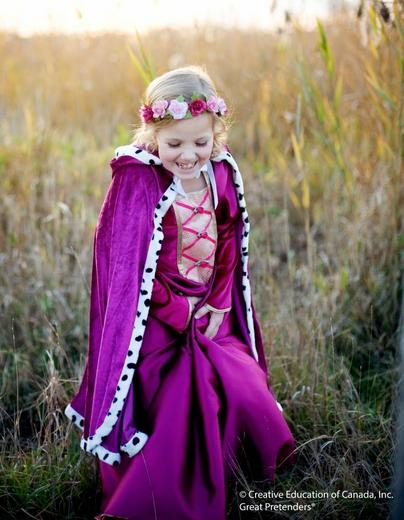 Пурпурный плащ для королевы, арт. 50605