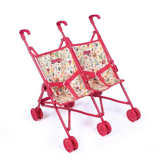 Арт. 462103 Коляска-трость для кукол-двойняшек