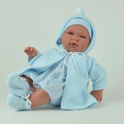 "Кукла-реборн ""ASI"" Пабло, 43 см, арт. 362961"