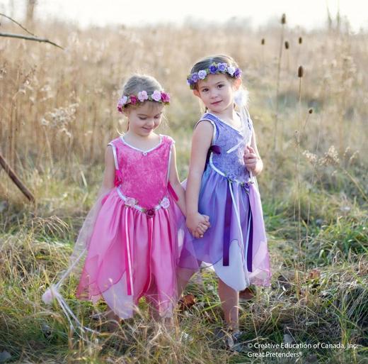 Розовое платье лесной феи, арт. 30425