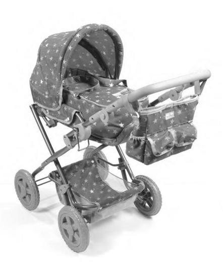 Арт. 62098, коляска для кукол