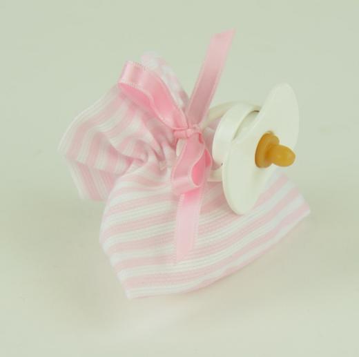 Арт. 0000056. Аксессуары для кукол ASI, пустышка розовая.